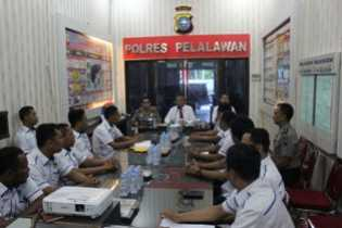 Tim Dit Tipid Narkoba Mabes Polri Laksanakan Supervisi di Polres Pelalawan