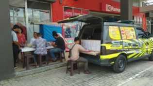Mobil SKCK Keliling Polres Pelalawan Diserbu Warga