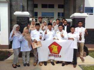 Daftarkan 40 Caleg ke KPU Siak, Gerindra Optimis Raih 9 KursI di DPRD