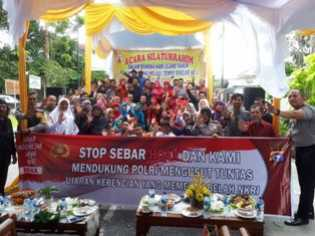 Sosialisasi Bahaya Narkoba Selingi HUT FKMTD Pekanbaru
