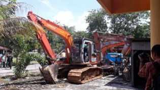 3 Pelaku Perambah Hutan Kawasan TNTN di Tangkap Tim Gabungan