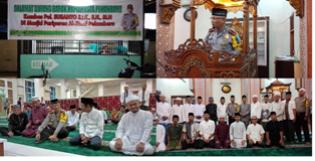 Kapolresta Pekanbaru Safari Ramadhan di Masjid Paripurna Al Jihad
