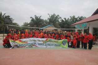Jalin Silaturahmi, PT. SAI Gelar Olahraga Bersama Warga di Wilayah Operasional Perusahaan