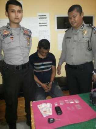 Tim Sat Narkoba Polres Pelalawan Tangkap Bandar Sabu Yang Beroperasi di Pangkalan Kuras dan Bunut
