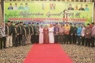 Halal Bi Halal di FISIP UR, Syamsuar sebut, Silahtuhrahmi Sesama Alumni Harus Dijaga