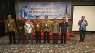 Dirut PDAM Kampar Pimpin DPD Perpamsi Riau Kepri