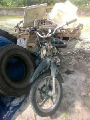 Tabrak Truck Yang Sedang Atrek, se Sampurna Ray Meninggal Ditempat