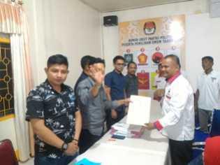 Sebanyak 586 Bacaleg, Akan Perebutkan 45 Kursi di DPRD Rohil
