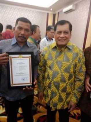 Koperasi Kebun Sawit Siak, Dapat Penghargaan Dari Menteri Koperasi