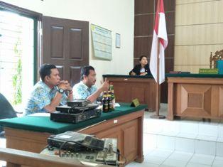 Satpol PP Kembali Ajukan 2 Perkara Tipiring ke PN Pelalawan
