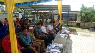 MKPT di Pinang Sebatang Tidak Dihadiri Perwakilan DPMK Siak