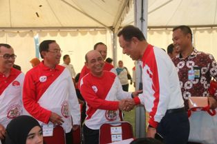 DIbuka Oleh Presiden Joko Widodo. Bupati Harris Hadiri Peringatan Hari Anak Nasional.