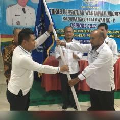 Asnol Mubarack Kembali Pimpin PWI Pelalawan.
