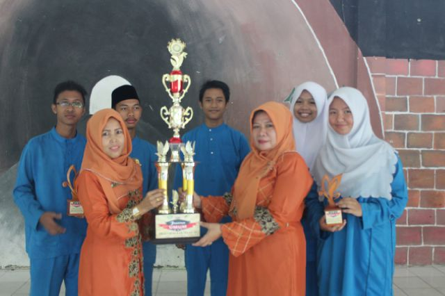 SMA Negeri 1 Pangkalan Kerinci prestasi MIPA EXPO X FMIPA Tingkat Propinsi  Riau