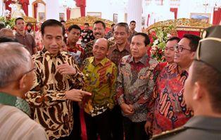 Bupati Pelalawan H.M.Harris Hadiri Rakor Karhutla di Istana Merdeka