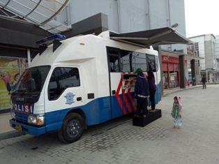 Guna Meningkatkan Pelayanan Kepada Masyarakat, Polres Pelalawan Gerakkan Mobil SIM Keliling