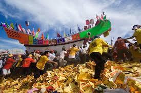 Tahun Depan Festival Bakar Tongkang Rohil Akan Tampil di TMII