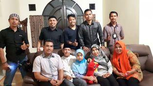 Tim Jumat Barokah Polresta Pekanbaru Silaturrahmi ke Rumah Bulan