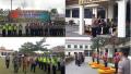 Polres Pelalawan Gelar Apel Pasukan Kesiapsiagaan Hadapi Bencana Banjir