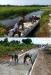 Kampung Aman Terisolir, Satgas TMMD Langsir Material Pakai Sampan