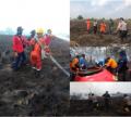 Polres Pelalawan Bersama Tim Gabungan Berhasil Padamkan Karlahut
