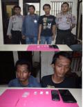 Dua Pelaku Narkoba di Jalan Arbes Dibekuk Sat Narkoba Polres Pelalawan