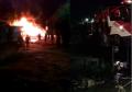 Empat Unit Ruko Milik Nasrun, Ludes Dilalap Sijago Merah