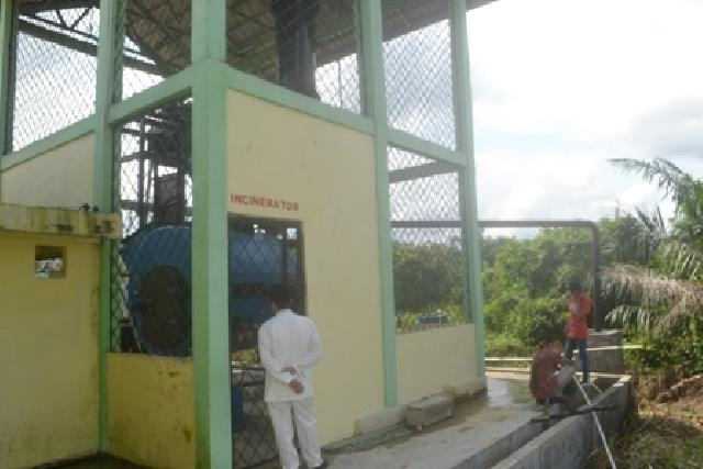 Gedung Incinerator RSUD Selasih