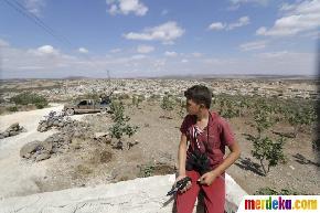 Kisah Ali, bocah 14 tahun jadi mata-mata tentara oposisi Suriah