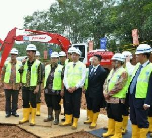 Presiden Jokowi sampaikan arahannya.